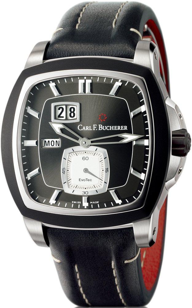 EvoTec星期腕錶不鏽鋼材質∕錶徑43.75 ╳ 44.5 mm∕時、分、...
