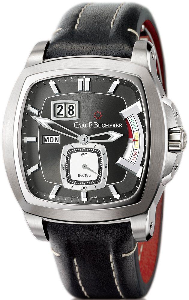 EvoTec動力儲存腕錶不鏽鋼材質∕錶徑43.75 ╳ 44.5 mm∕時、...