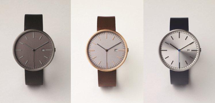 Uniform Wares 203系列-PVD黑錶帶,11,000元;Unifo...