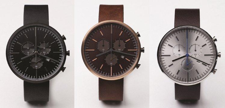Uniform Wares 302系列-PVD黑,25,000元;Uniform...