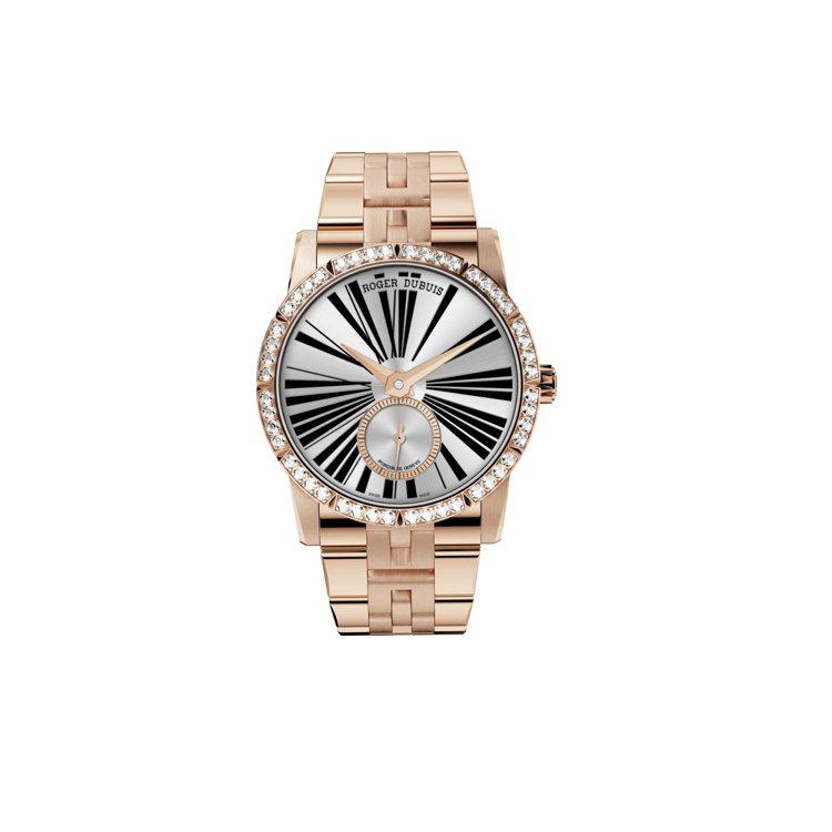 Excalibur 36 Diamonds Bezel 腕錶。圖/ROGER D...