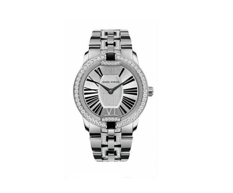 Velvet Jewellery (white gold) 腕錶。圖/ROGER...