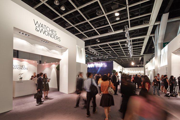 香港鐘錶展-鐘錶與奇蹟Watches & Wonders會場。圖/時間觀念