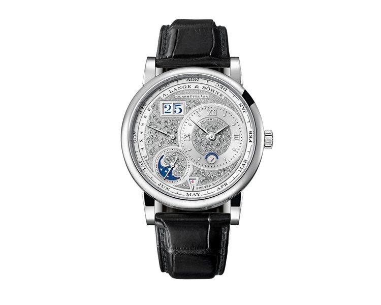 A. LANGE & SÖNHE 朗格朗格在這次錶展中朗格推出了全新的限量款...