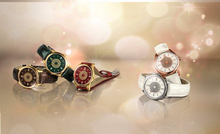 雞尾酒系列女性腕表,定價5萬1100元。圖/瑞德利提供