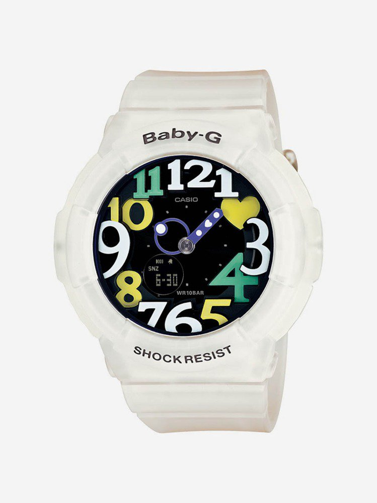 BABY-G系列BGA-131-7B4手表,建議售價4000元。圖/卡西歐提供