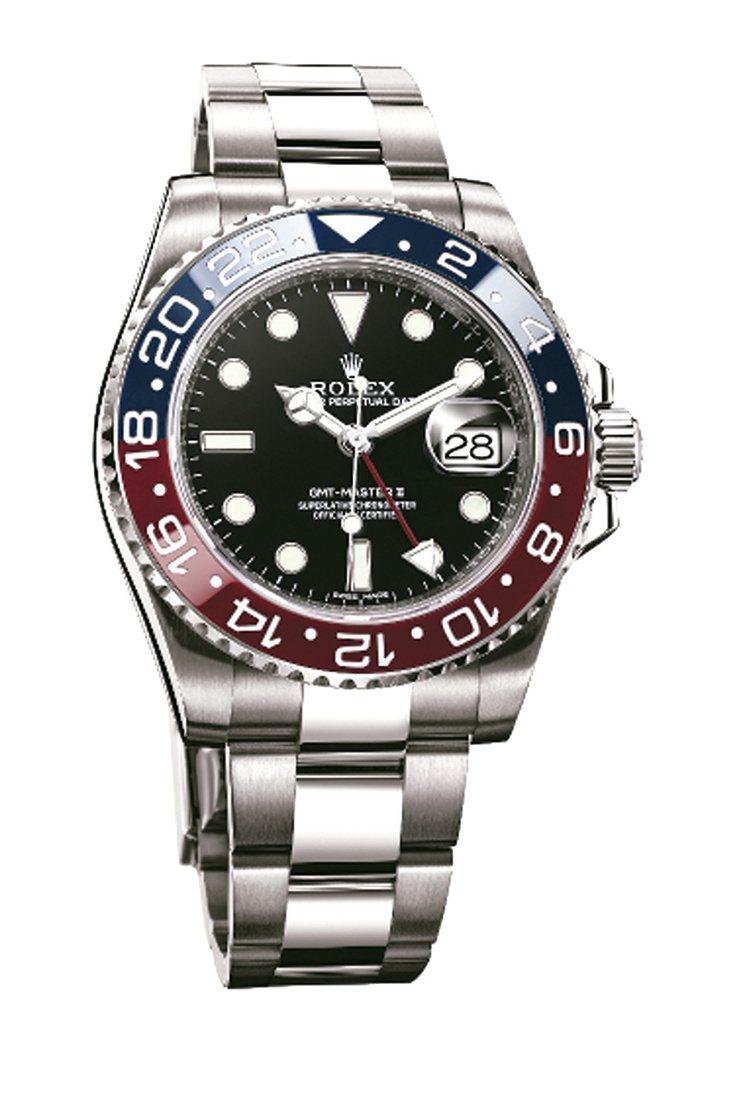 勞力士(Rolex)/紅藍雙色GMT-Master II兩地時間腕表/約120萬...