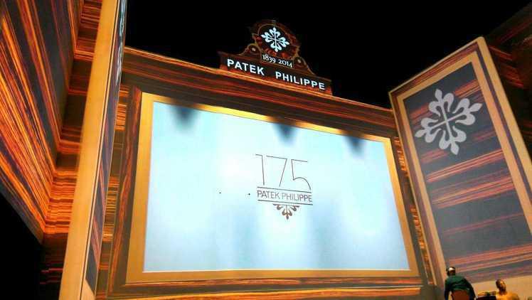 瑞士頂級製表品牌百達翡麗(Patek Philippe)邁入175周年,在百達翡...