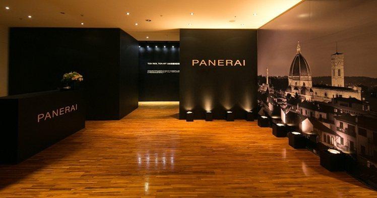 沛納海鐘表藝術展陳列品牌的經典表款。圖/Panerai提供