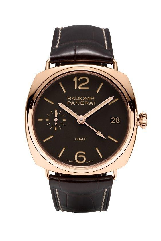 沛納海在1936年設計的骨董腕表RADIMIR 3 DAYS GMT ORO R...