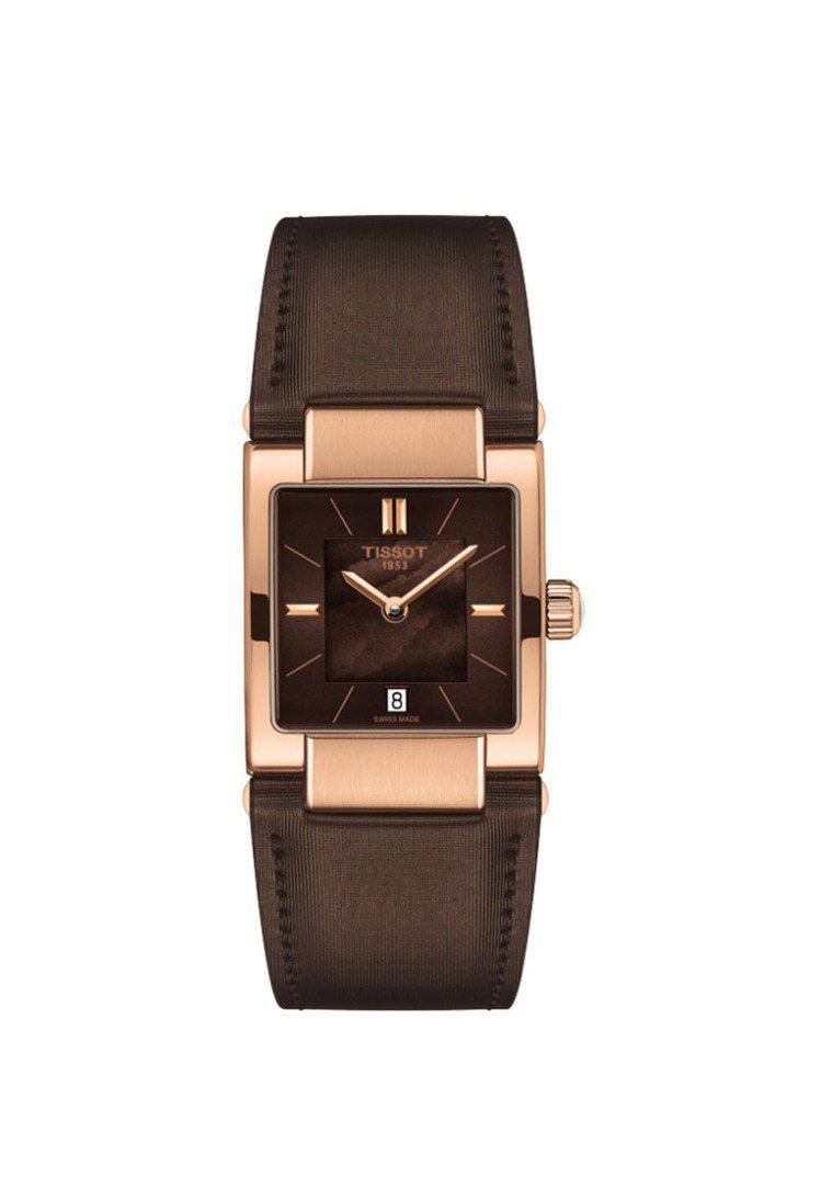 T02系列女裝腕表,13,900元。圖/天梭提供
