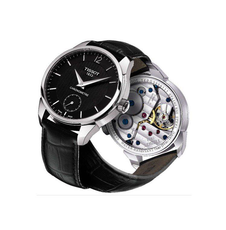 T-Complication菁英系列腕表,手動上鍊機芯,瑞士官方天文台認證,52...