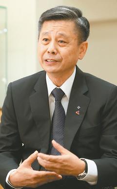 武祥貿易董事長劉瑞麒。記者陳立凱/攝影