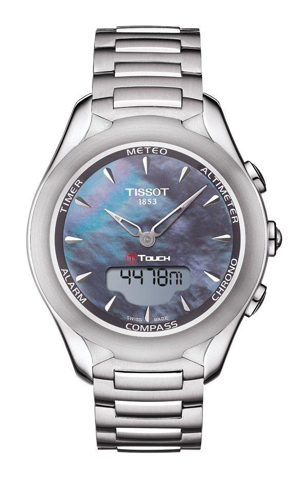 天梭表TISSOT T-Touch Lady Solar太陽能觸控腕表,29,0...