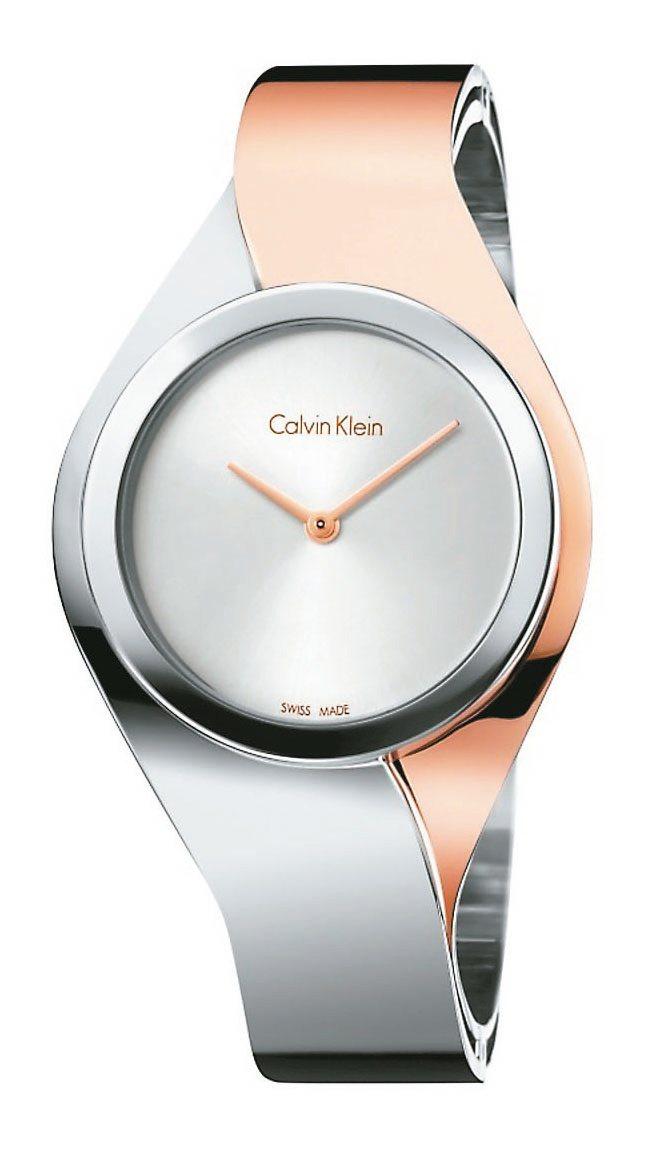 Calvin Klein sense喚醒系列腕表,12,000元。圖/Calvi...
