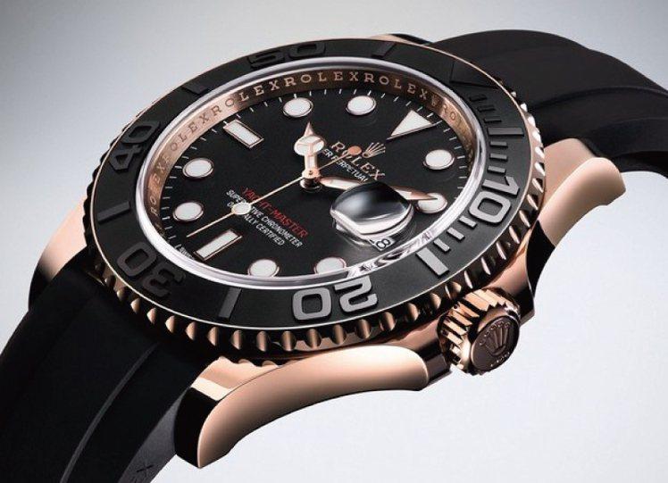 蠔式錶殼防水象徵。圖/時間觀念提供