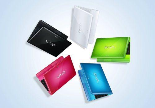 Sony VAIO E系列多彩顏色相當討喜。圖/台灣索尼提供