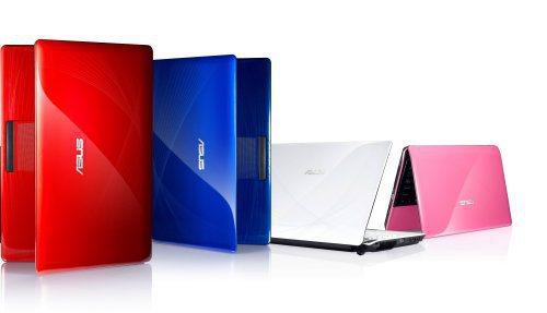 華碩A40JE筆電以多彩外觀滿足新世代需求。圖/華碩提供