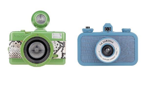 Lomography情人節限定款相機。圖/Wow!La Vie提供