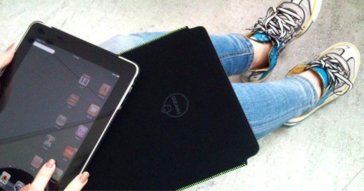 OZAKI iCoat Velvet iPad包。圖/Wow!La Vie提供