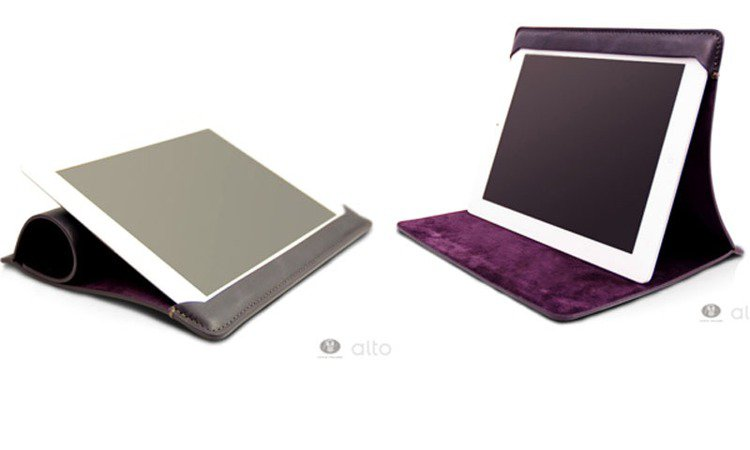 Alto Libro new ipad / ipad 2義大利手工皮套。圖/Wo...