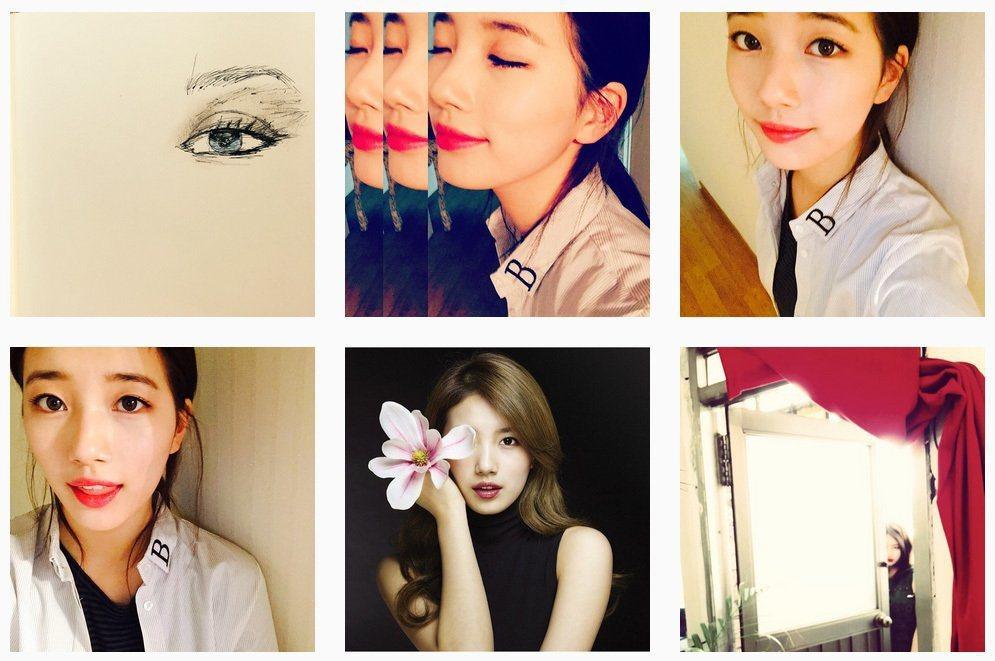 擷自秀智instagram