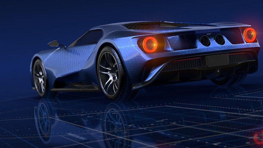 如果仔細觀察全新 Ford GT超跑的尾燈,或許會發覺它獨特的中空式設計。 Fo...