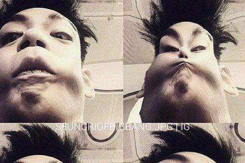 最近回歸的南韓男團「BIGBANG」在亞洲地區擁有超高人氣,成員之一的T.O.P 因帥氣的外表,擄獲許多女性粉絲的心,4月份他開始使用Instagram和粉絲互動,更新頻率頗高,但卻有不少讓粉絲驚嚇...