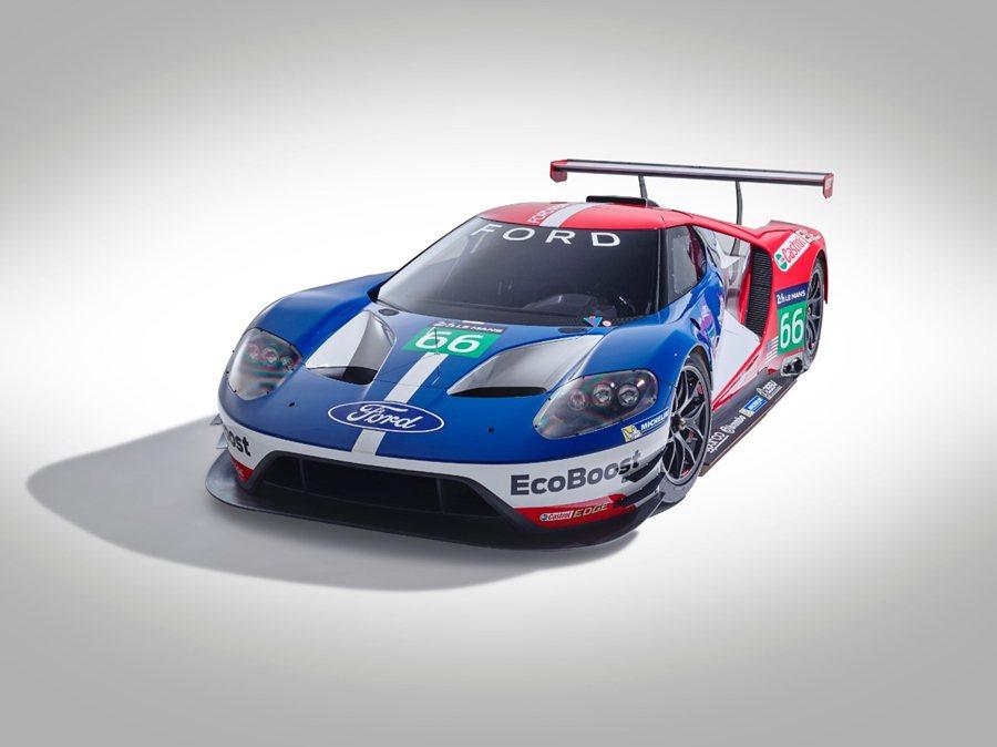 福特12日宣布將重返利曼大賽,並展示全新的GT賽車,預計明年將參加利曼大賽的LM...