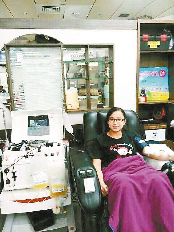 24歲捐血大戶 針孔是她的驕傲