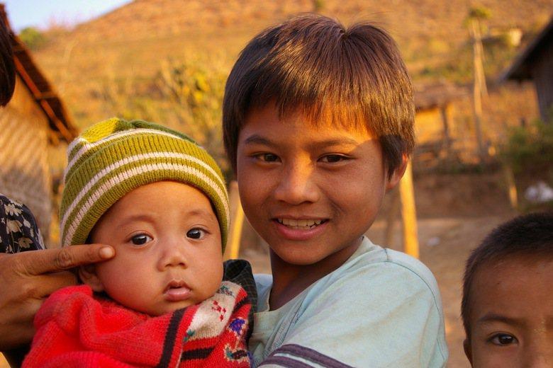 緬甸山區的課輔班。 圖/作者提供