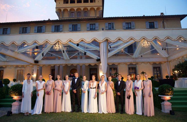 義大利花園Giardini系列高級珠寶發表在瑪雅諾莊園(Villa Di Mai...