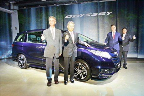 Honda Odyssey日系7座MPV 開啟新戰火