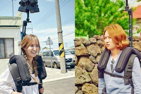 有線電視Olive最新節目《MAPS》將於6月28日開播,近日節目組公開了一組少女時代成員Yuri和Super Junior成員金希澈背著街景攝影機的照片。 《MAPS》是一檔「在路上」的真人秀節目...