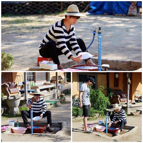 南韓有線台tvN綜藝節目《一日三餐:旌善篇2》節目組通過官方臉書(facebook)公開了一組嘉賓池城的錄製現場照。節目組寫道:「請記住,2015年6月5日晚9時45分,是我對洗碗癡迷的時間。這麼認...
