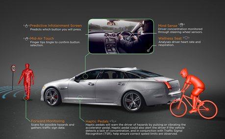 用第6感開太扯? Jaguar Land Rover開發腦波偵測駕駛系統