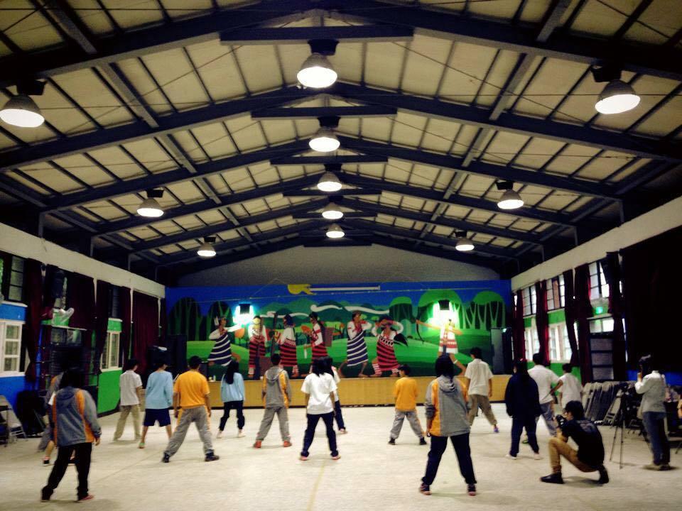 第一堂「山中舞者」代用課程。圖片提供/詹敬農老師