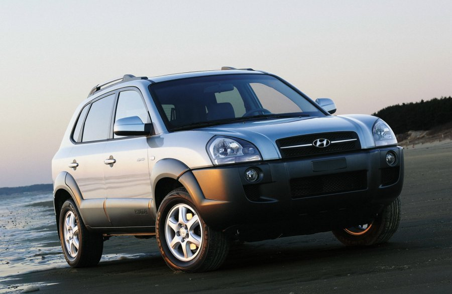 Hyundai看準柴油車的市場潛力,推出國內首款柴油休旅車Tucson,不到80...