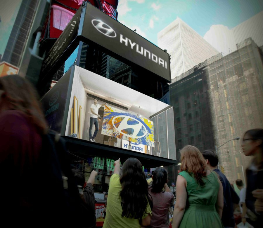 Hyundai創意的廣告行銷,也讓人重新認識這個韓系品牌。 摘自hyundain...