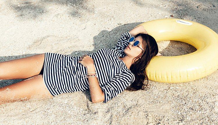 天氣炎熱一定要做好防曬,以免長期在陽光下曝曬,容易造成皮膚傷害。 圖/ingim...