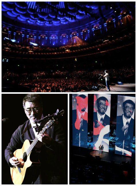 李宗盛越過「山丘」,天涯海角海闊天空,繼紐約林肯中心後,他在台北時間22日晚上登上歷史悠久的倫敦皇家亞伯廳演唱,包括張艾嘉、名鞋設計師Jimmy Choo都來朝「盛」。