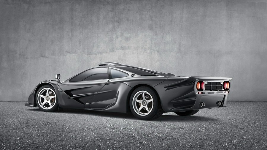 這樣的車身長度應該很難找得到車位。 McLaren提供