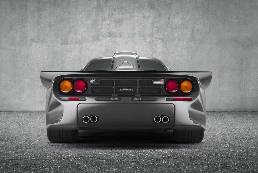 McLaren F1 GT的車尾設計 McLaren提供
