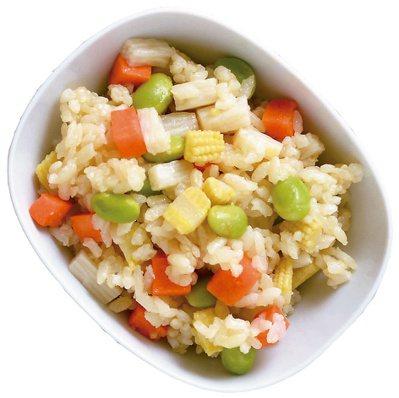 甜味蔬菜拌飯