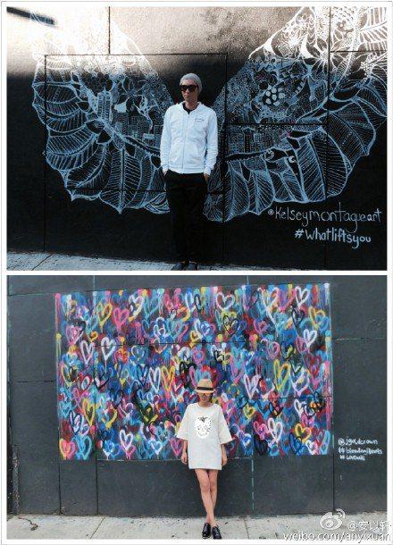 前「可米小子」成員安鈞璨6月1日因肝癌病逝,和他以姐弟相稱的安以軒,遲遲走不出傷痛,近日安以軒赴紐約工作,重遊2人曾同行的舊地,想找出當時拍照的地點,卻看到景物換、人事非,不禁悲從中來,一邊拍照一邊...