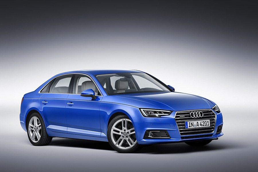 A4有全新設計的LED頭燈組。 Audi提供