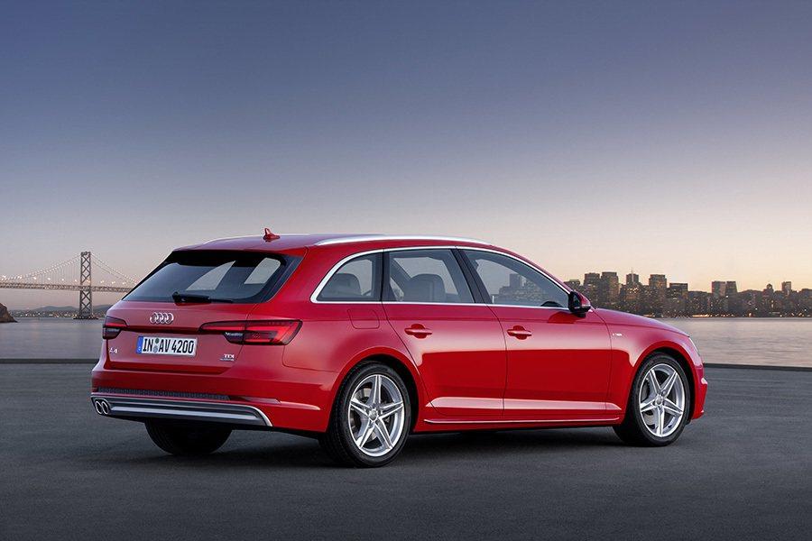 A4全車系尺碼變長且變寬。 Audi提供