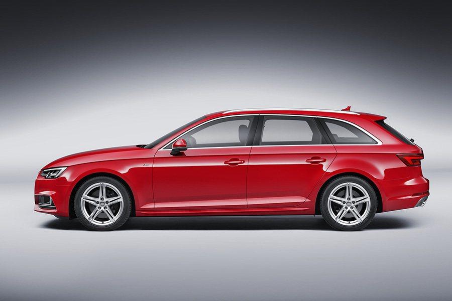 車頂線條略向尾垂墜,營造跑車般的視覺感。 Audi提供