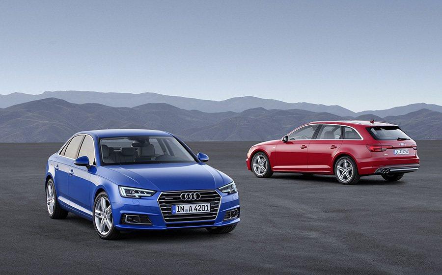 A4車系改款新車,強調動力更強且更節能,且具備更高的智慧。 Audi提供