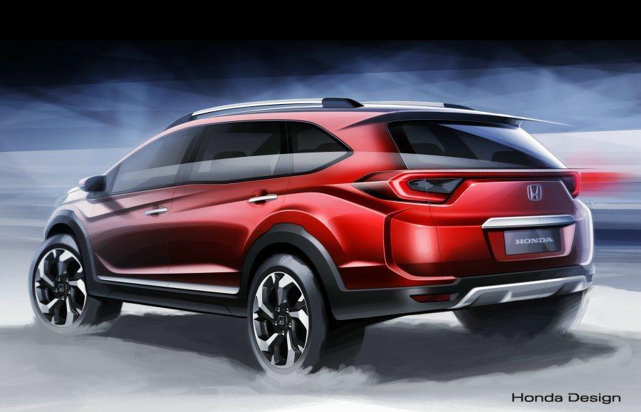 Honda針對亞洲市場推出BR-V新作,原廠也預告實車將在印尼車展公開亮相。 H...